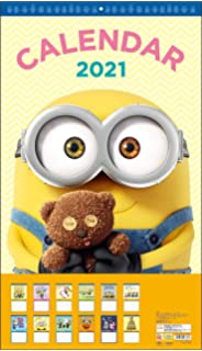 Despicable Me 2020 12 x 12 Inch Monthly Square Wall Calendar by