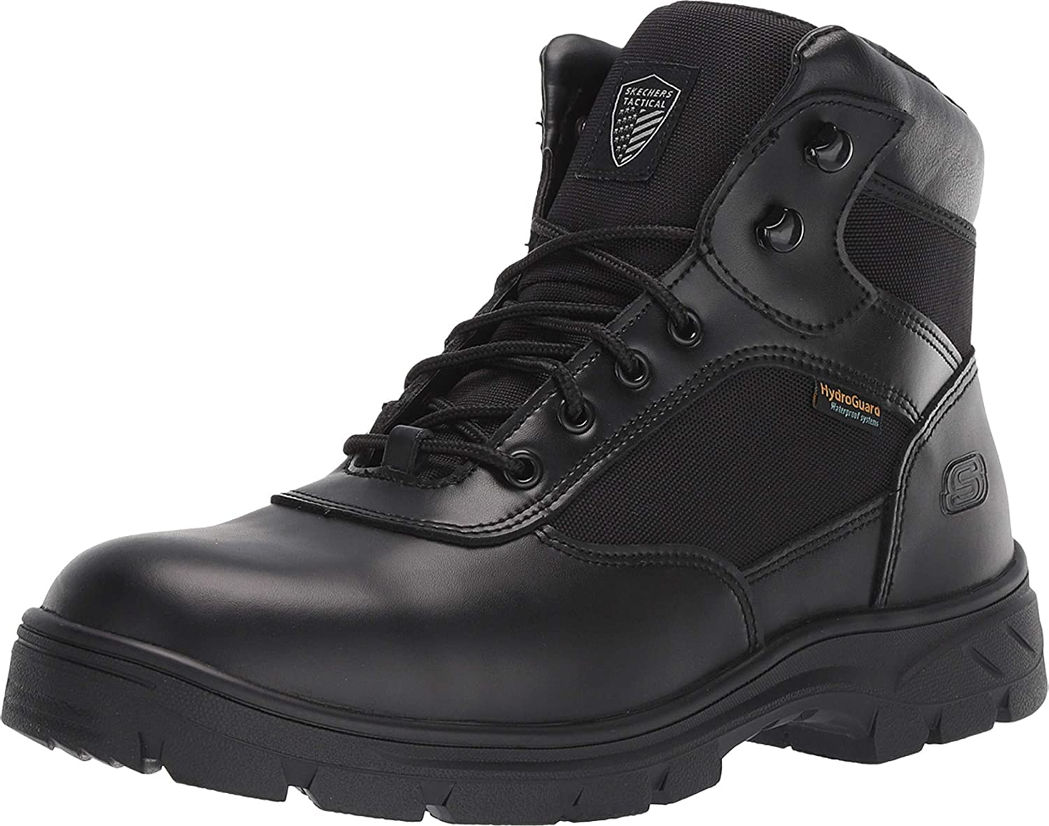 Skechers Men's New Wascana-Benen Military and Tactical Boot: Shoes