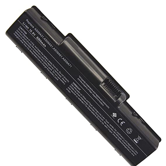 Bay Valley Parts New Replacement Laptop Notebook Battery for Acer AS09A31 AS09A41 Emachine D525 D725 Aspire 5516 5517 5532 5732Z Acer AS09A56 5734 5732 ...