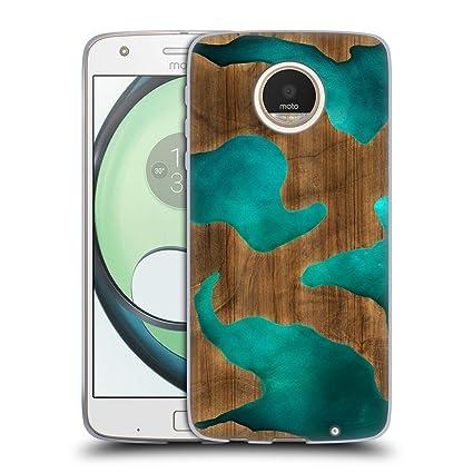 Amazon.com: Carcasa de gel suave para Motorola Moto Z Play ...