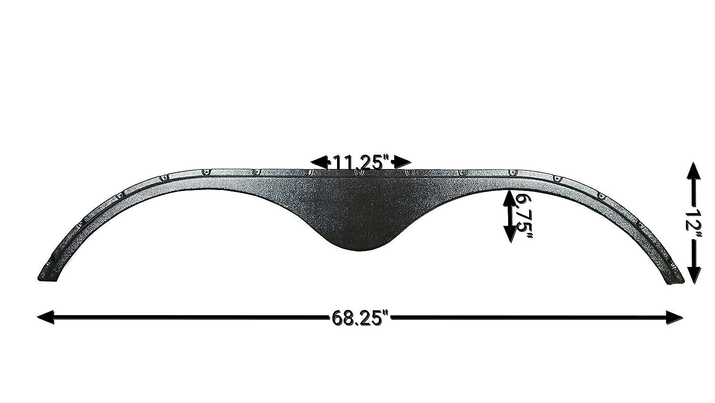 Carbon New Fender Skirt Black 2014-2016 Keystone Raptor