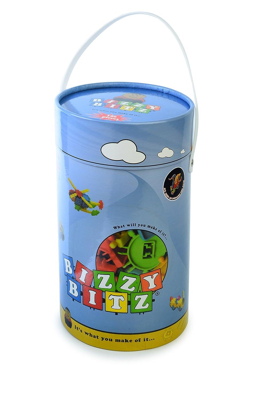 Bizzy Bitz Building Toy = Open-ended Building Set Set 180 Pieces by Bizzy Bitz