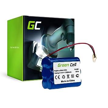 Green Cell® Batería de Aspirador para iRobot Braava 321 (Ni-MH celdas 2.5Ah 7.2V): Amazon.es: Hogar