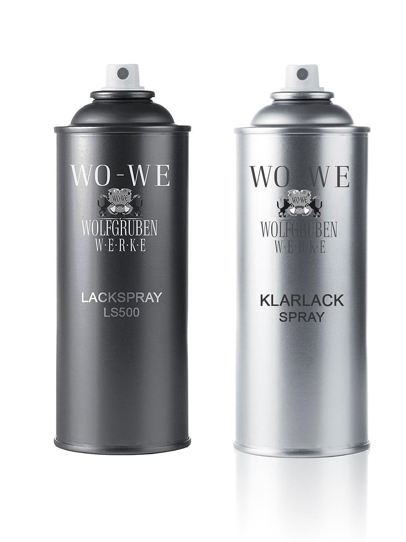 Bombolette Spray Vernice per Auto VOLKSWAGEN LD5Q SHADOW BLUE M. -2x400ml Wolfgruben Werke (WO-WE)