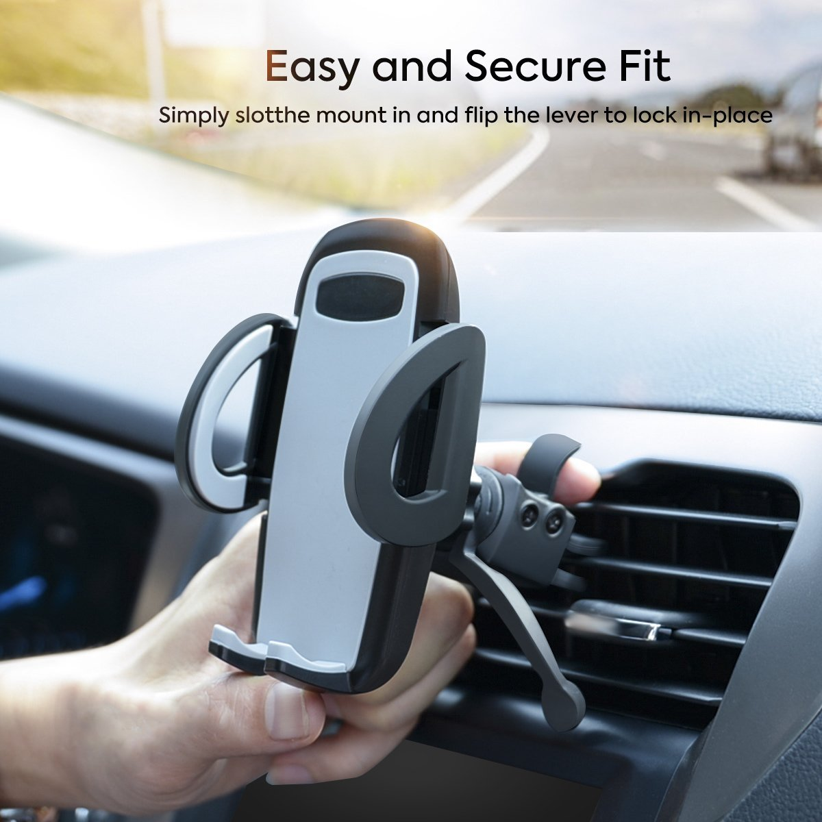 SGRICE Universal Car Air Vent Phone Mount Holder Cradle Compatible for iPhone X//8//8Plus//7//7Plus//6s//6Plus//5S LG Samsung Galaxy S6//S7//S8 Car Phone Mount Huawei and Other Smartphones gihtgiu
