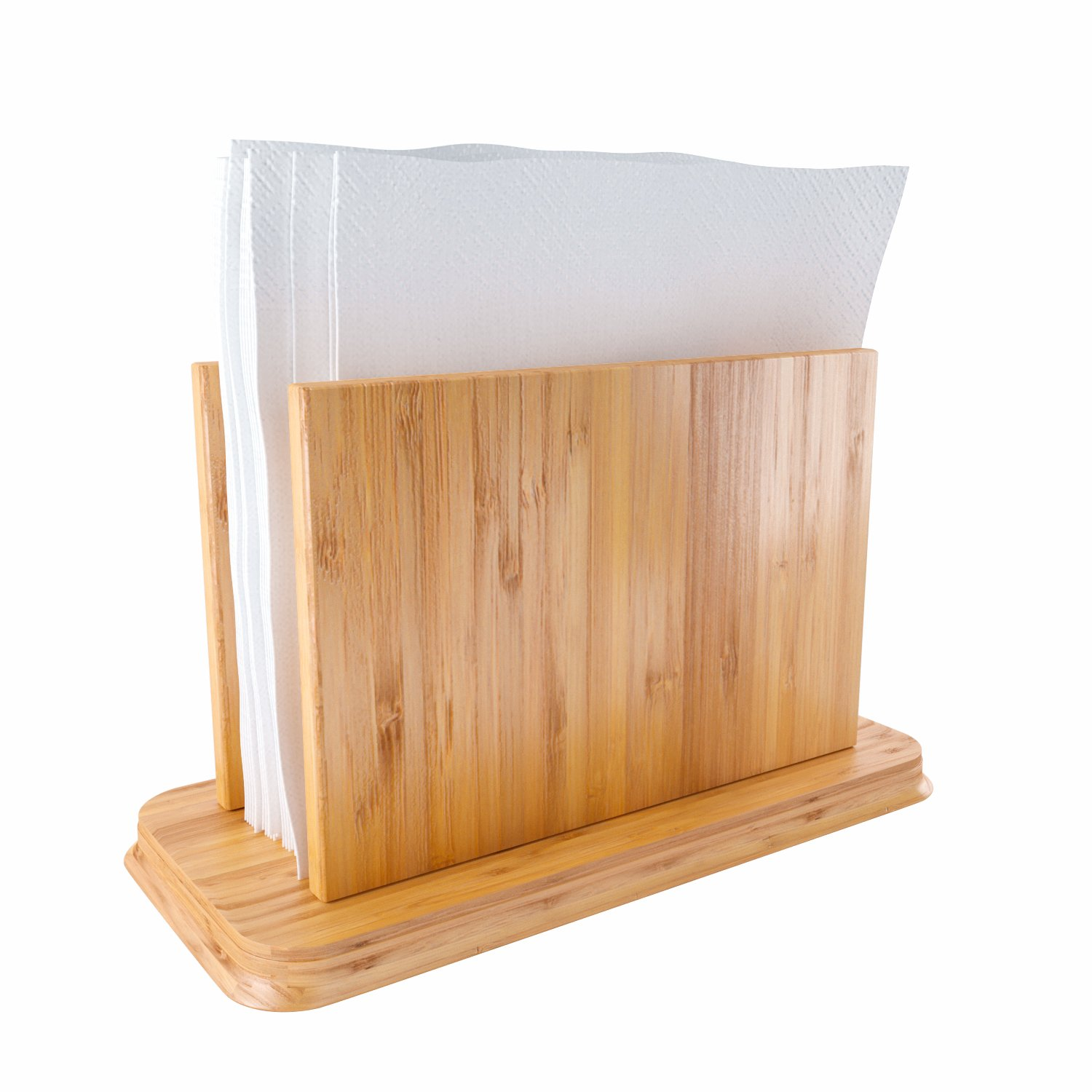 Home Intuition Bamboo Napkin Holder by Home Intuition