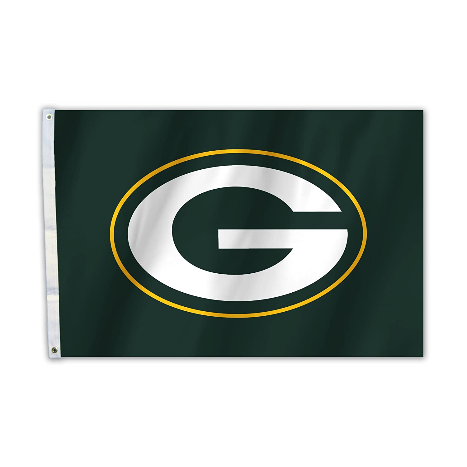 Fremont Die NFL Green Bay Packers Unisex Bay Packers 2 FT. X 3 ft. Flag W/Grommetts, One size 92016B