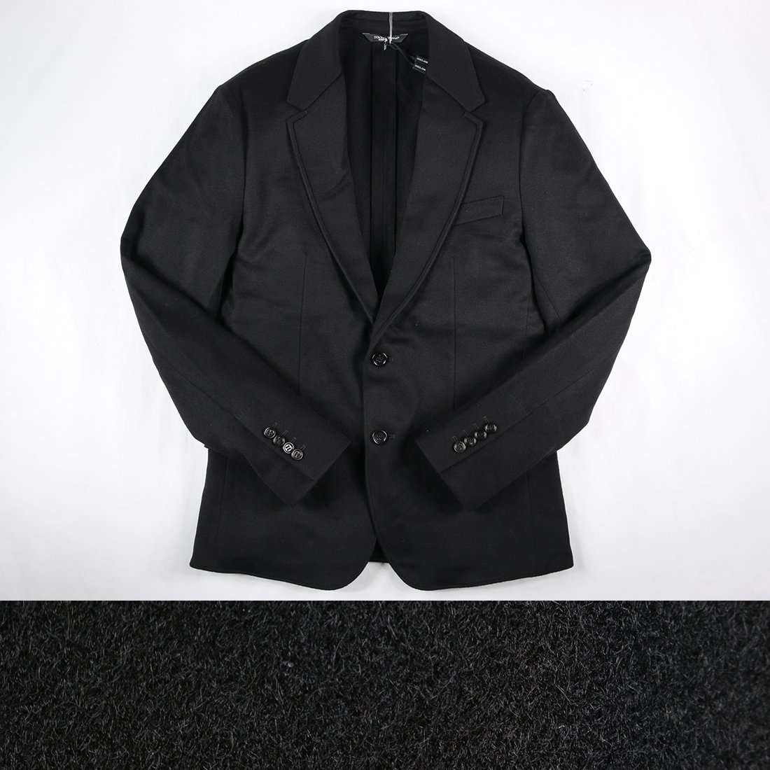 Dolce&Gabbana ジャケット G2DP7TFU2X 11188 [並行輸入品] B075VRV39Y 54|ブラック ブラック 54
