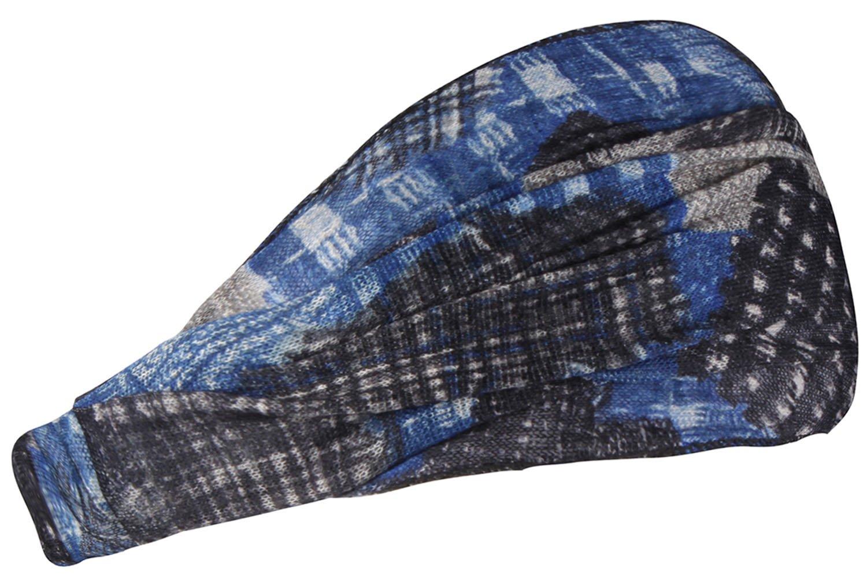 マルチカラー女性用ヘッドバンド伸縮性ワックスPrintedヘッドスカーフヘアバンド B071YP4X27 Colors Pattern