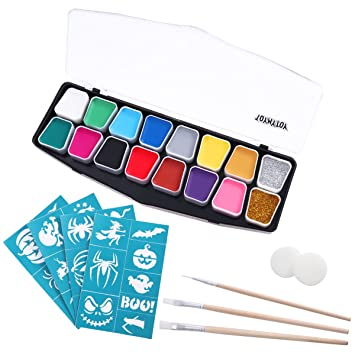 Toymytoy Kinderschminke Set Face Paint 14 Farben Schminkpalette 2