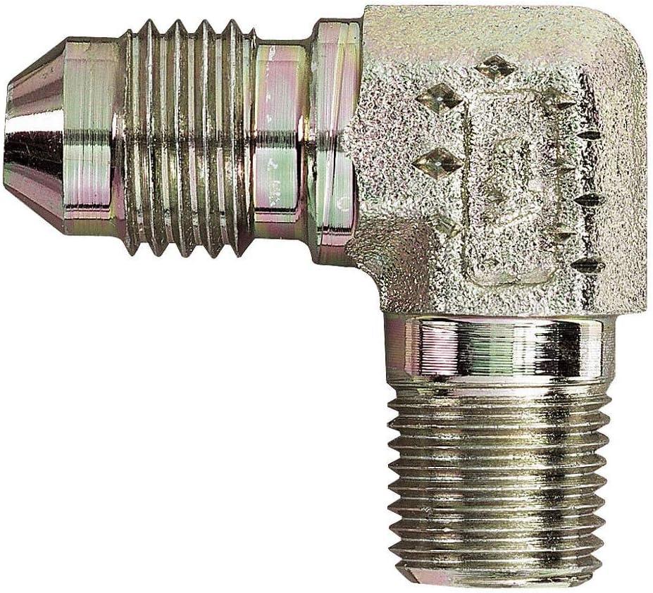 Continental Hydraulic Adapter Fitting JIC 37 Male NPTF Male 90 3//4-16 X 3//4-14