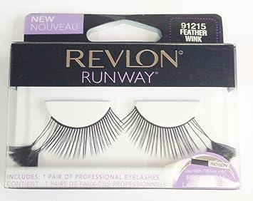79ef66ab603 Amazon.com : Revlon Runway Eyelashes - Feather Wink 91215 : Beauty