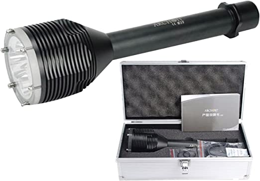 Archon D33/plong/ée lampe de poche /étanche 100/metres de profondeur avec 3/pcs CREE XM-L2/U2/LED 3000/Lumens plong/ée lumi/ère plong/ée lumi/ère