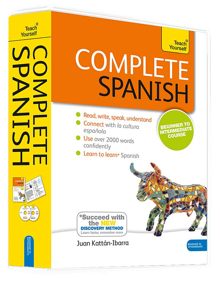 Complete Spanish with Two Audio CDs: A Teach Yourself Program: Juan on research say in spanish, how do you say squid in spanish, just to say in spanish, say no in spanish, how do you say shut up spanish, say good morning in spanish,