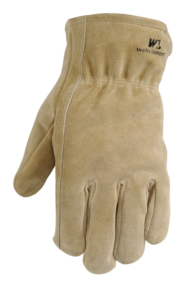 Insulated leather work gloves amazon - Leather Winter Work Gloves 100 Gram Thinsulate Insulation Split Cowhide Large Wells Lamont 1063l Amazon Com