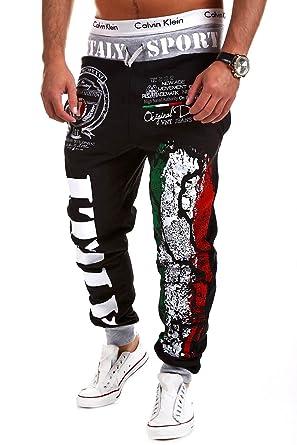 e616e49b2705e MT Styles - R-521 - Pantalones deportivos - Diseño Italia  Amazon.es ...
