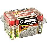 Camelion 11102406 Boîte de 24 piles alcalines AA