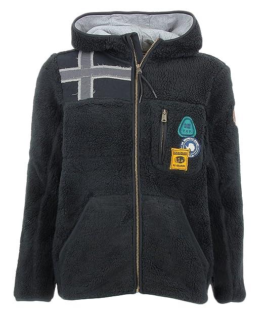c90499d48526d7 NAPAPIJRI Yupik HOODBLACK Felpa Orsetto Uomo: Amazon.it: Abbigliamento