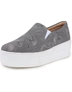 ce120f54155 TRASE Comfy Black White Loafer   Sneaker Casual Shoes for Women ...
