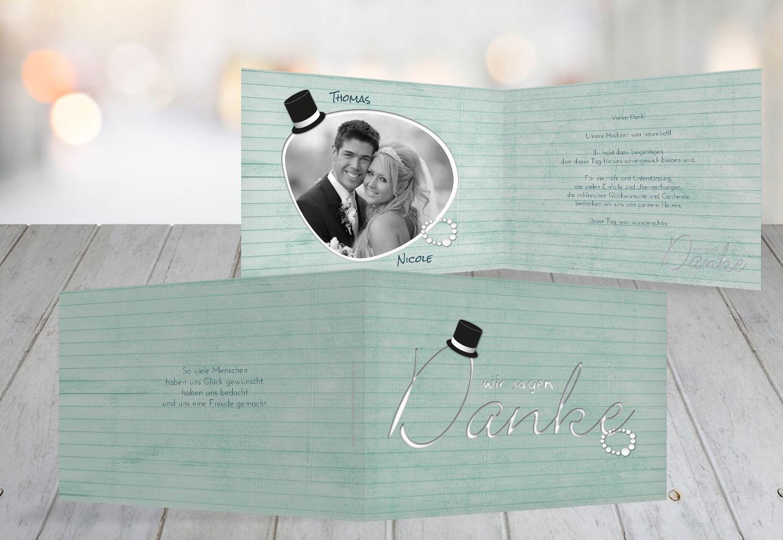 Kartenparadies Danksagung für Hochzeitsgeschenke Hochzeit Dankeskarte Kette Zylinder, hochwertige Danksagungskarte Hochzeitsglückwünsche inklusive Umschläge   10 Karten - (Format  148x105 mm) Farbe  Rosa B01N6TCHBL   Exquisite (in) Ver