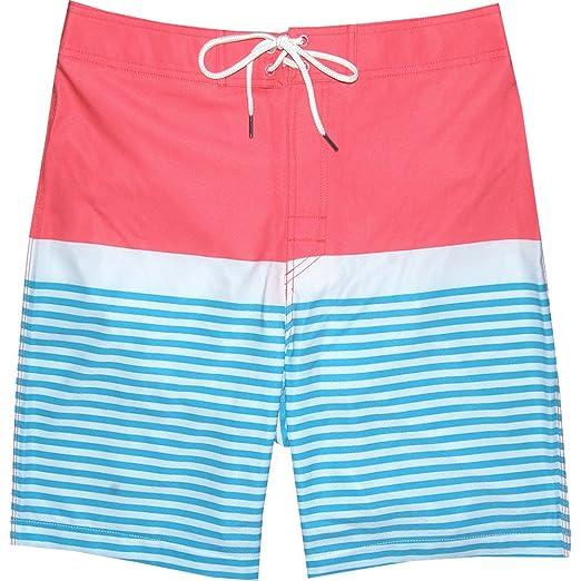 99b3d99d19068 Image Unavailable. Image not available for. Color: Southern Tide Men's  Horizon Stripe Swim Trunks ...