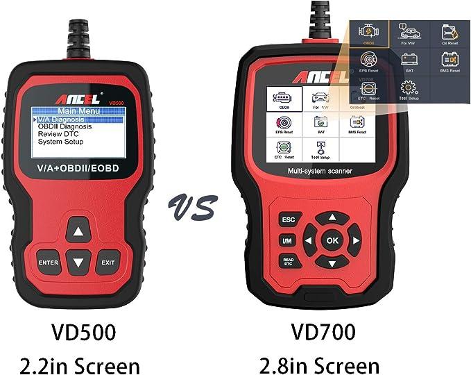 Tous les système de scanner OBD2 DPF EPB TPS injecteur huile outil de diagnostic pour VW//Audi UK
