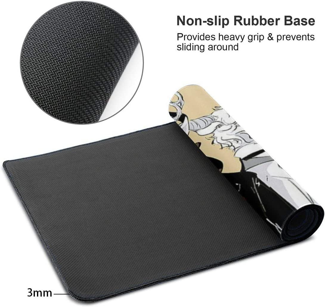 Thick Large 29.5x15.8 in Gaming Mouse Pad Latest Offers BEAS-TARS Gentleman Oversized Extended Mousepad Computer Keyboard Pad Mat Mouse Pad with Stitched Edge