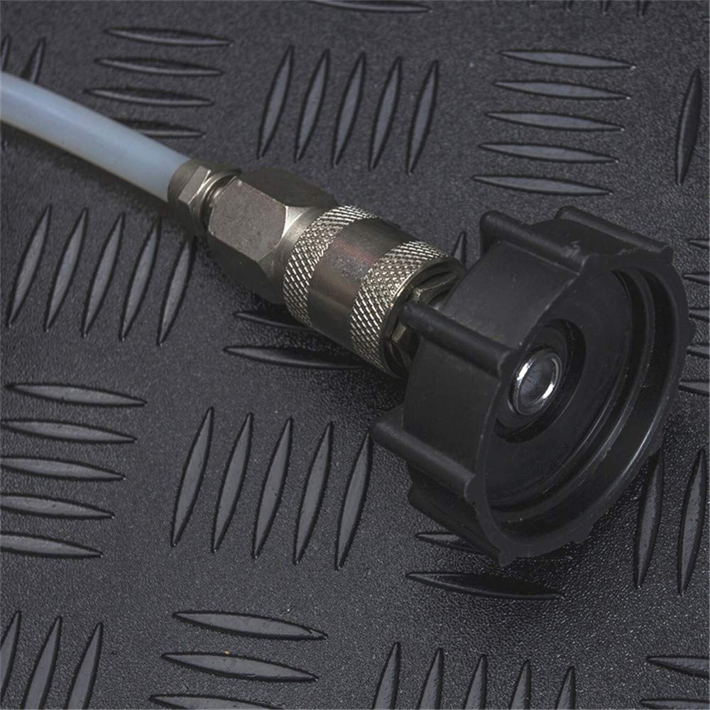 DIYARTS Cambiador Aceite L/íquido Freno Coche Autom/ático Sistema Freno Bomba Autom/ática Presi/ón Purga Fluido Herramienta Reemplazo Purga Freno