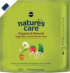 Nature's Care Organic & Natural Vegetable, Fruit & Flower Food, 3 lb.