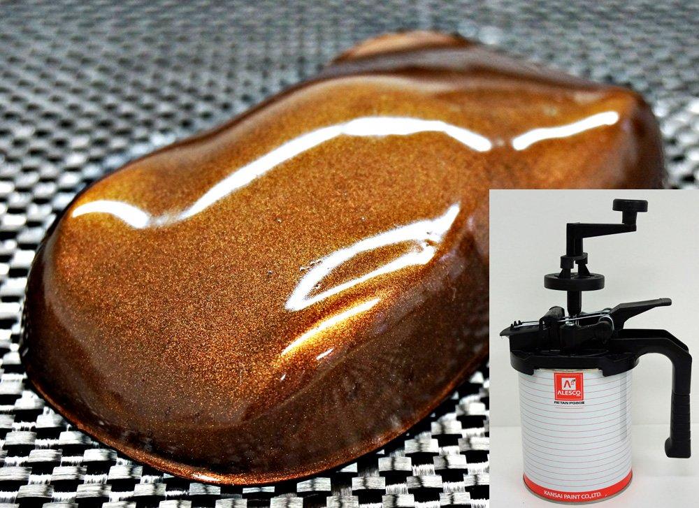 関西ペイントPG80 マルーン ブラウン パール  4kg 自動車用 ウレタン 塗料 2液 カンペ 茶 B0188J0324 4.0 キログラム