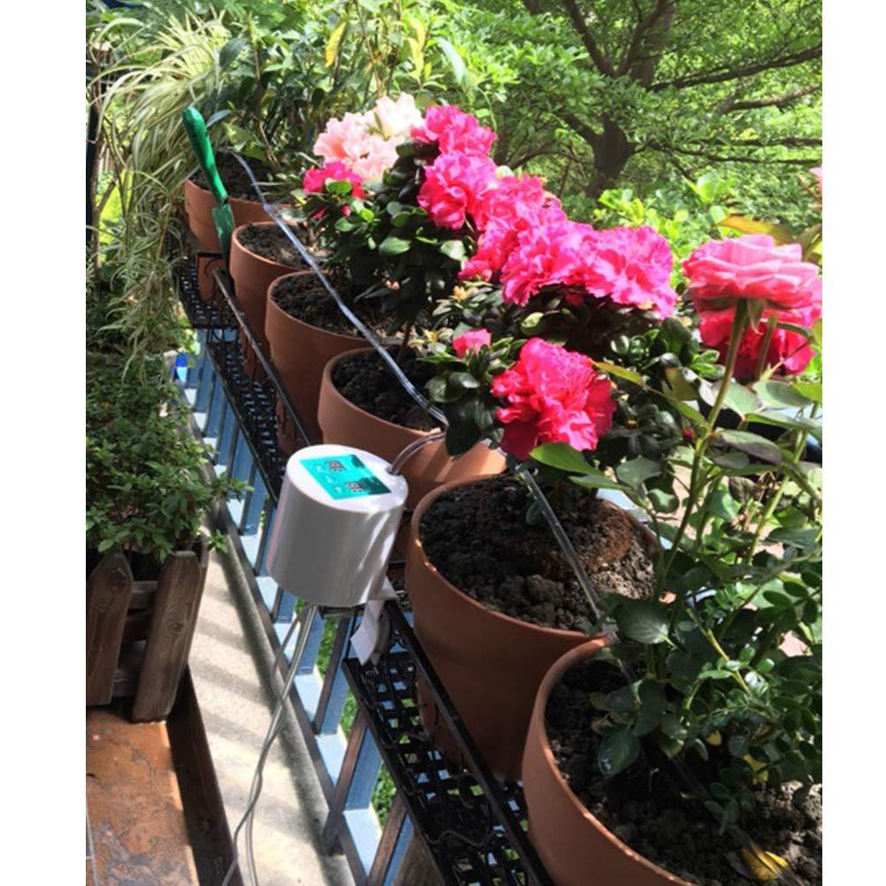 H/ängek/örbe Sarplle Automatisches Bew/ässerungssystem DIY Drip Bew/ässerung Kit Urlaubs Selbstbew/ässerungssystem f/ür Garten Topfpflanzen Balkon