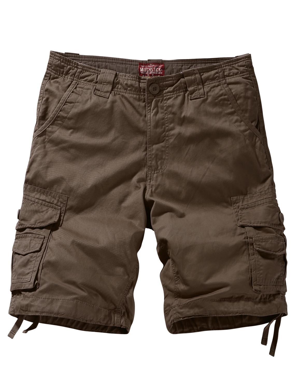 Match Men's Comfort Cargo Short (Label size 3XL/38 (US 36), 3056 Dark khaki)