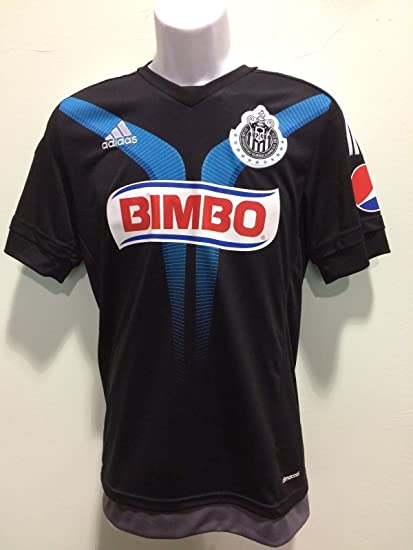 77863b6b037 Amazon.com   Club Chivas Guadalajara black jersey negra-blue adidas 2015  seleccion mexicana   Sports   Outdoors