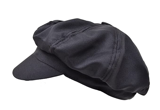 Newspaper Boy Hat (Black) at Amazon Men s Clothing store  b9fcabecdbf