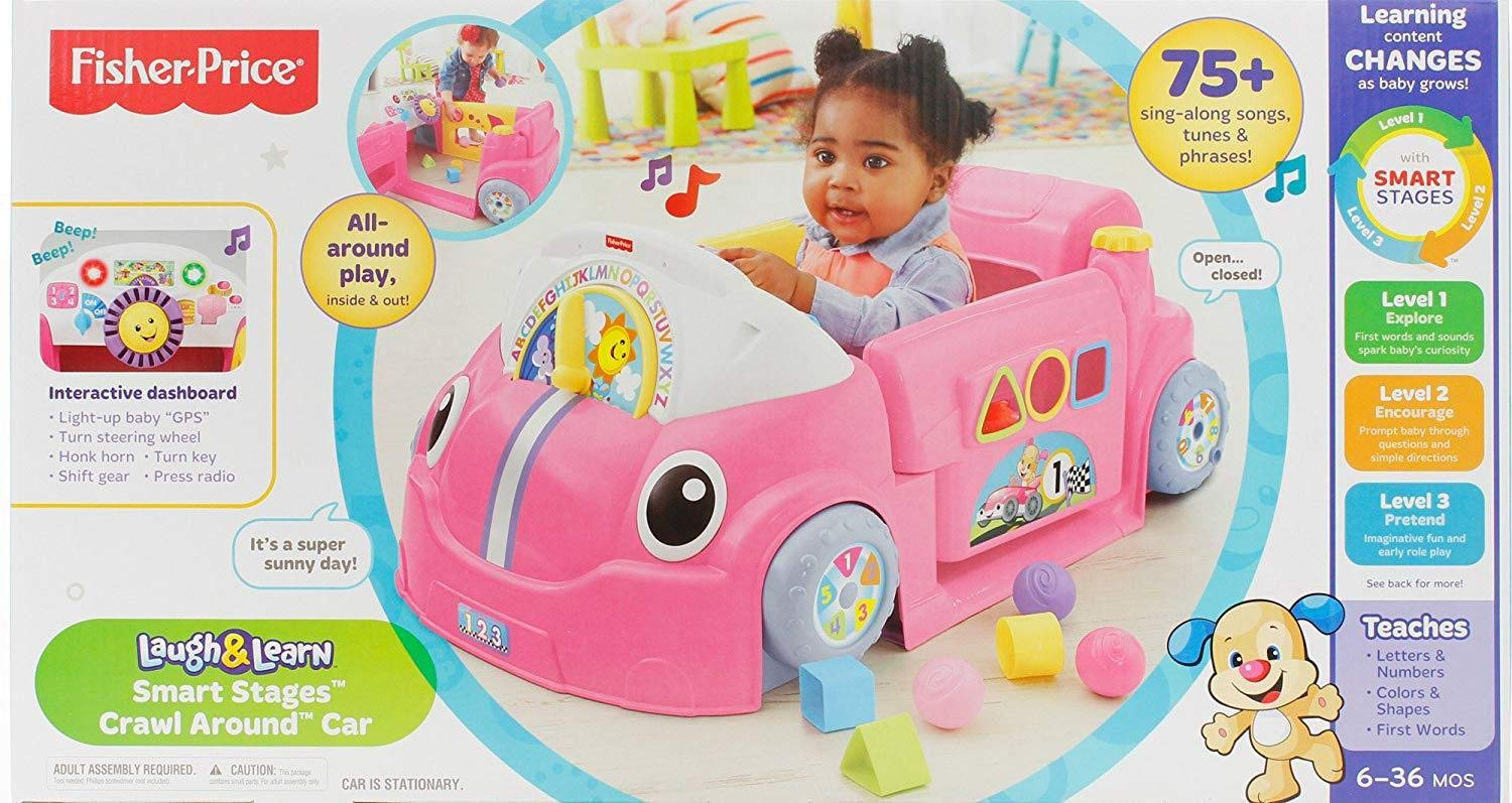 Fisher-Price Laugh & Learn Smart Stages Crawl Around Car by Fisher-Price