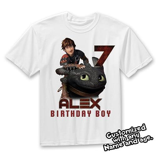 How To Train Your Dragon Birthday Shirt Family Shirts