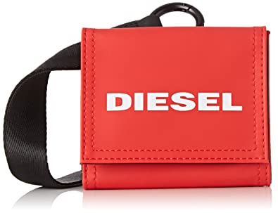 Diesel YOSHINO LOOP, Cartera para Hombre, Rojo (Fiery Red ...
