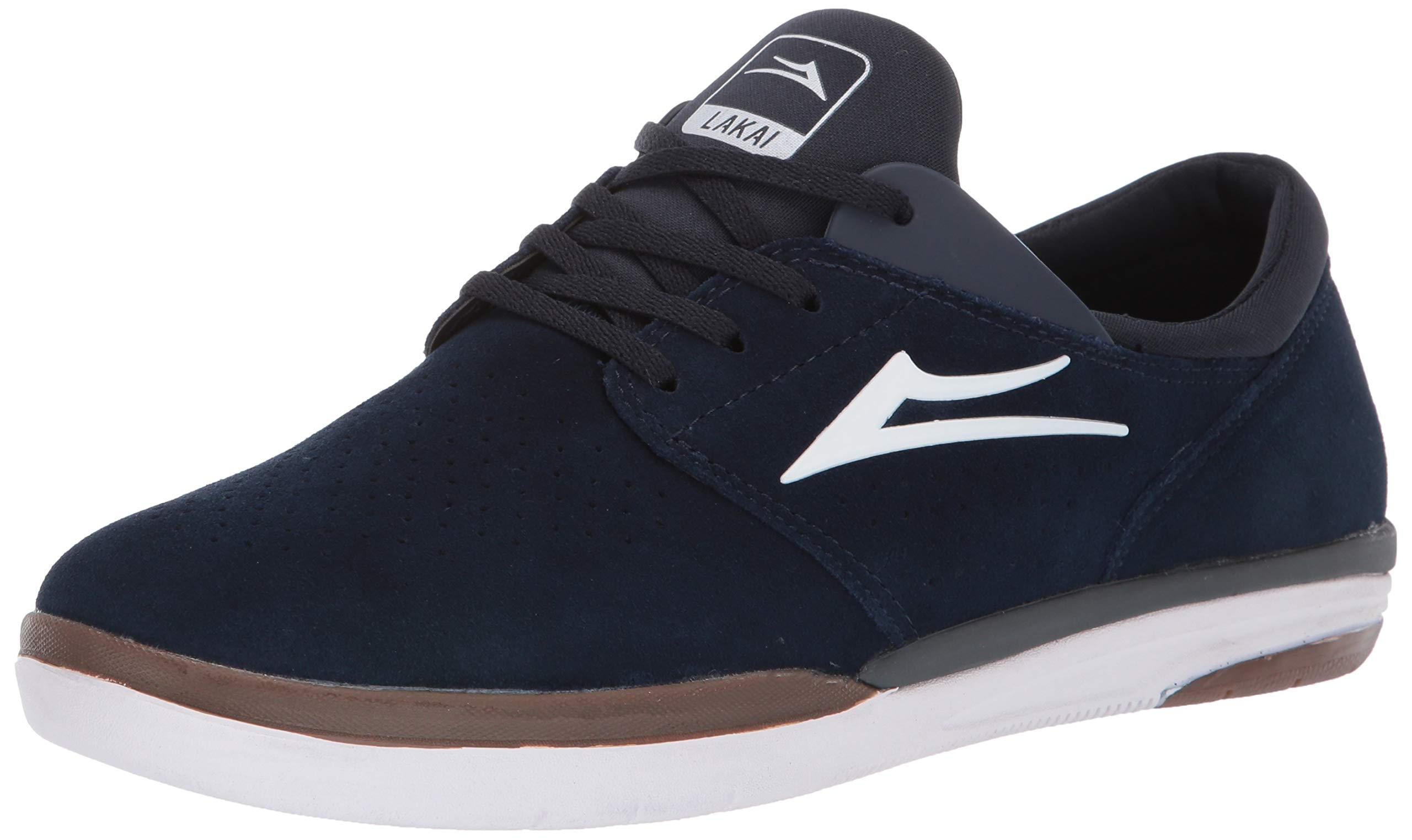 Lakai Footwear Fremont Navy SUEDESize 8.5 Tennis Shoe Suede, Standard US Width US by Lakai