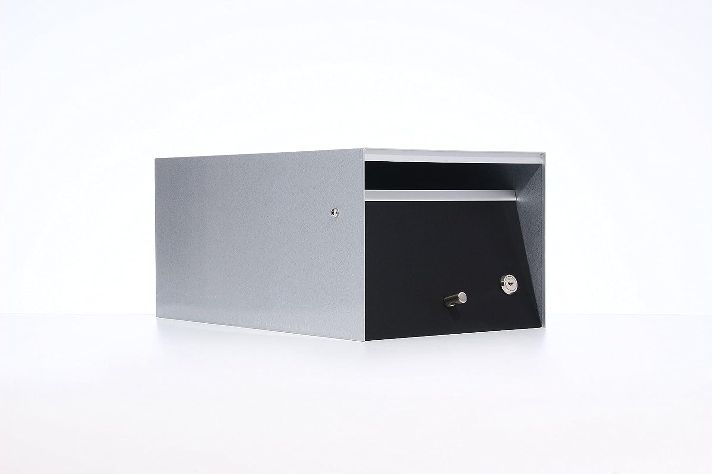 Box Design ポスト 郵便受け Urban Black B00W6HW4RW 28620  Black