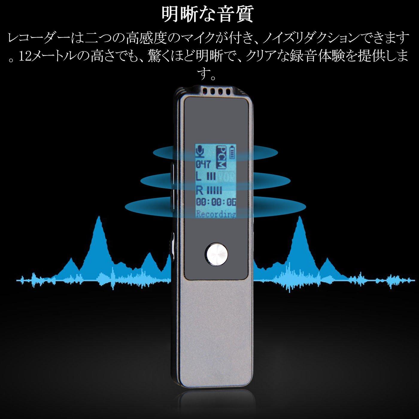 Tragbares Audio & Video Mini T60 16 Gb Professionelle Sprach Aufnahme Gerät Zeit Display Großen Bildschirm Digital Voice Audio Recorder Diktiergerät Mp3 Player Kaufen Sie Immer Gut
