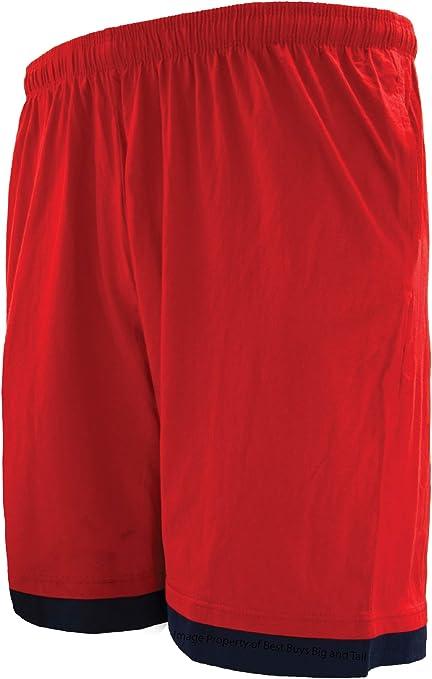 Grey 3X Greystone Fully Elastic Waist Active Knit Shorts