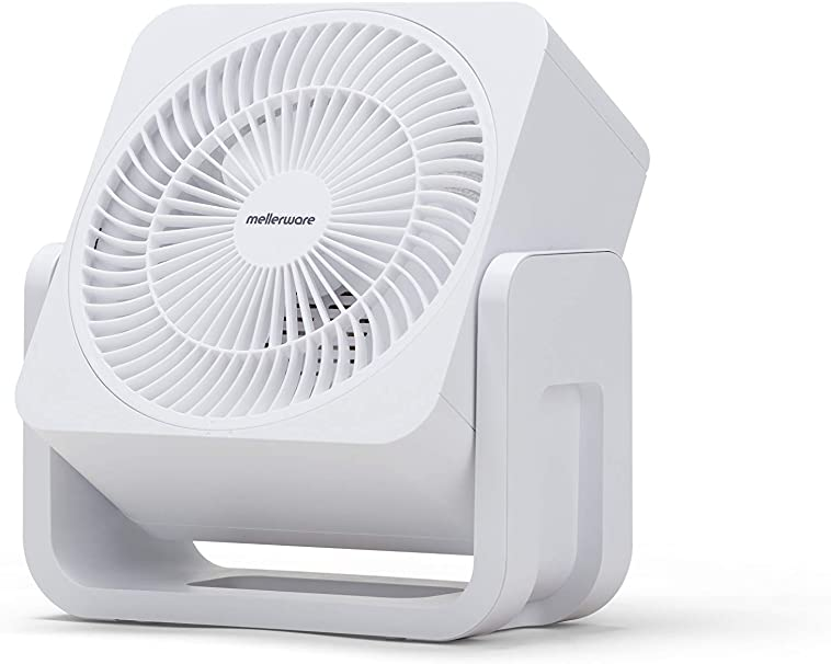 Mellerware Ventilador Sobremesa Air Force 30 White. Color Blanco ...