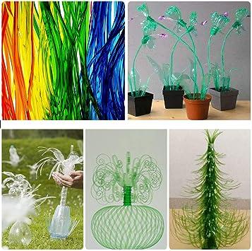Cortador de botellas de plástico creativo para enseñar a casa ...