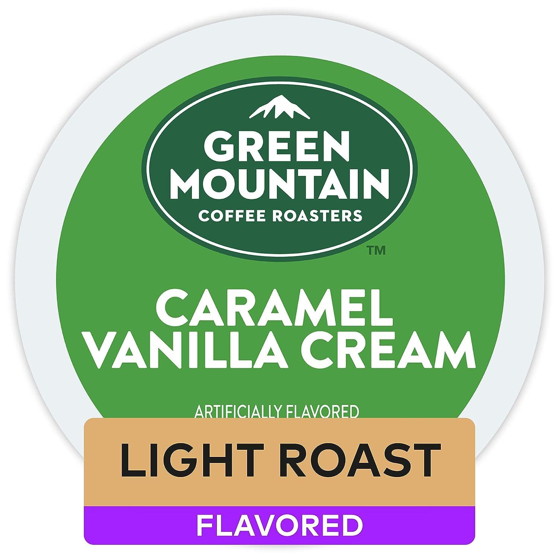 Green Mountain Coffee Roasters, Caramel Vanilla Cream, Keurig Single-Serve K-Cup Pods, 96 Count