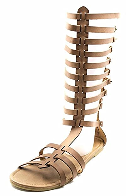 3f1d9af5c98 Orly Shoes Free Reign Women s Tall Caged Calf Butterfly Strappy Gladiator  Sandal (Wide Width)