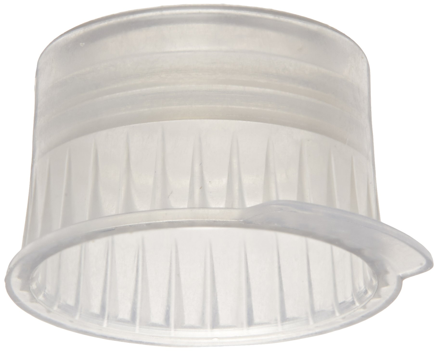 PlatinumCode 88030S 13mm Cap for 13mm Vacuum and 12mm Glass or Plastic Tubes, Grey (Bag of 1000)