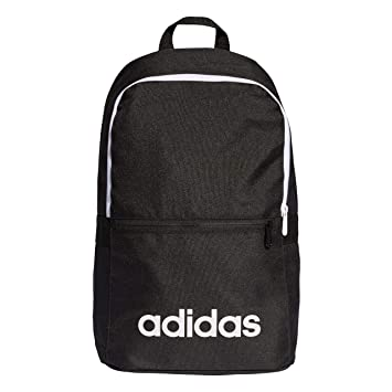 c36d82dd3deb Adidas Unisex Adult Lin CLAS Bp Day Gym Backpack - Black White