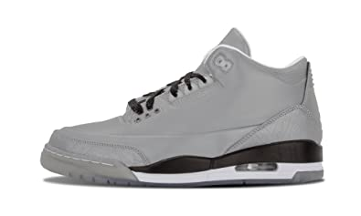 f7189bd3121f Nike Mens Air Jordan 5LAB3 3M Reflective Silver Black-White Leather  Basketball Shoes Size