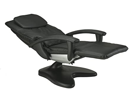 ht095 human touch massage chair recliner in black microsuede ht 95