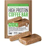 Protein Coffee Energy Bar, Made with Five Simple Ingredients, All Natural, Gluten Free, Non GMO & 16g of Protein, Made…